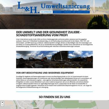 Lh-umweltsanierung.de thumbnail