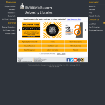 Lib.usm.edu thumbnail