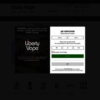 Libertyvape.ca thumbnail