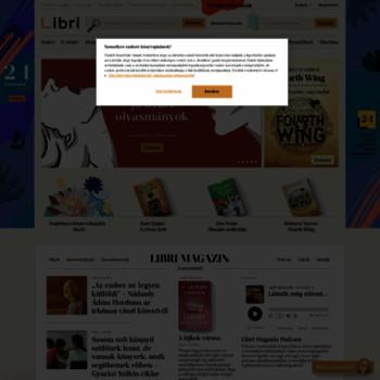Libri.hu thumbnail
