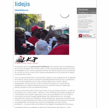 Lidejis.org thumbnail