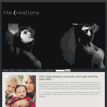 Lifecreations.ca thumbnail