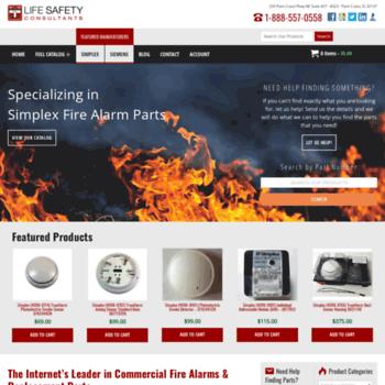 lifesafetycom com at WI  Fire Alarm Parts, Smoke Detectors