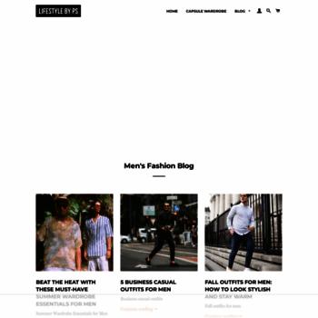 bfd49d4da51 lifestylebyps.com at WI. Mens fashion   style blog 2019