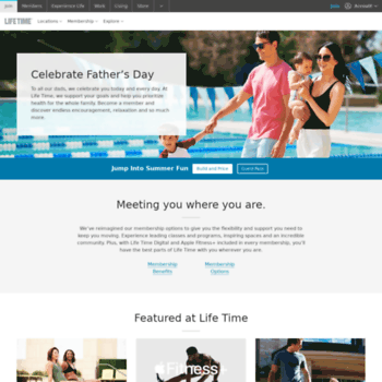 Lifetimefitness.com thumbnail