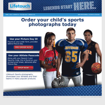 Lifetouchsports Com At Wi Lifetouch Sports Photography Order Your