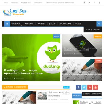 Ligsys.com.ve thumbnail
