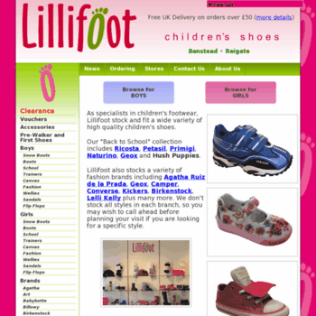 Lillifoot.co.uk thumbnail