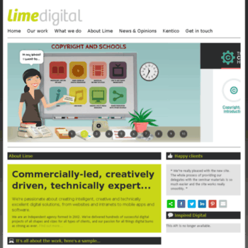 Limemedia.co.uk thumbnail