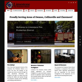 Limestonefd.org thumbnail