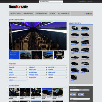 Limoforsale Com At Wi Limo For Sale New Used Sedan Stretch Limos