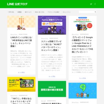 Lineblog.naver.jp thumbnail