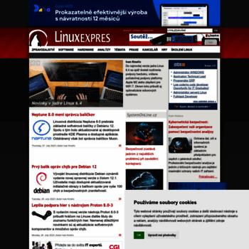 Linuxexpres.cz thumbnail