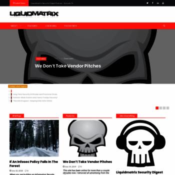 Liquidmatrix.org thumbnail