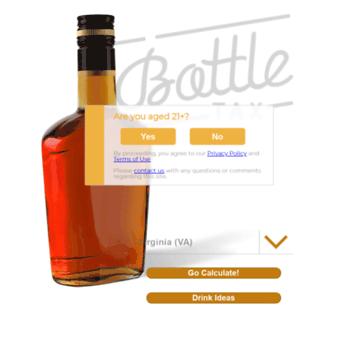 washington liquor tax calculator