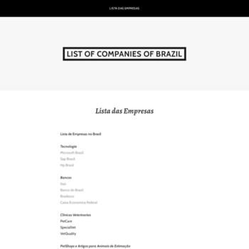 List-of-companies.org thumbnail