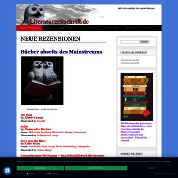 Literaturzeitschrift.de thumbnail