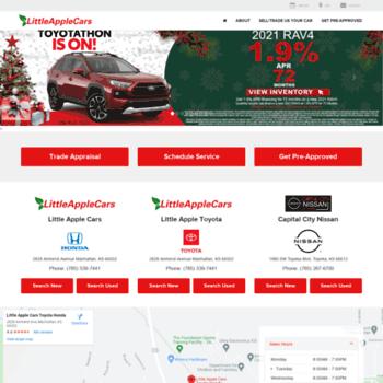 Toyota Dealers In Kansas >> Littleapplecars Com At Wi Honda And Toyota Dealer Manhattan