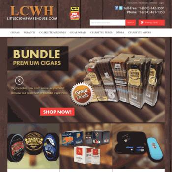 littlecigarwarehouse com at WI  Cigarette Tobacco, Smoke
