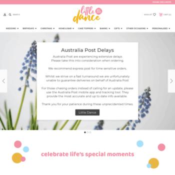 littledanceinvitations com au at wi custom personalised