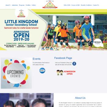 Littlekingdomschool.in thumbnail