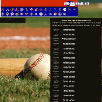 Live-baseball.net thumbnail