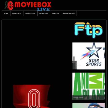 live movieboxbd com at WI  MovieboxBD Live TV Server - bdix live tv