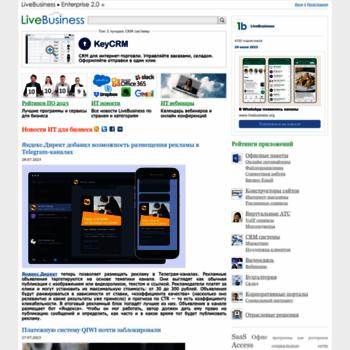 Livebusiness.ru thumbnail