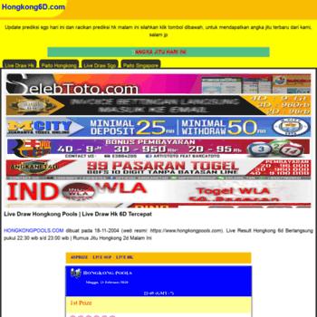 livedrawhongkong6d com at WI  Prediksi Live Draw Hongkong Pools Live