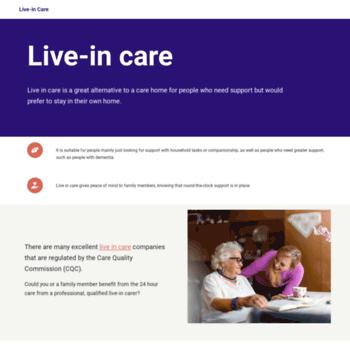 Liveincare.info thumbnail