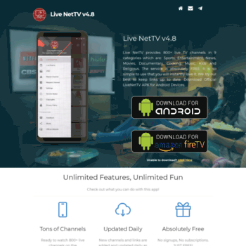 live net tv app for android apk