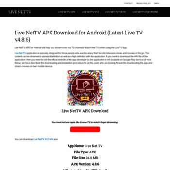 livenettvapk live at WI  Live NetTV – APK Download Live TV APP
