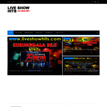 liveshowhits com at WI  Live Show Hits - Live Musical Show