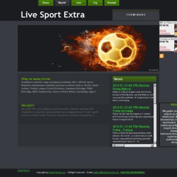 Livesportextra.xyz thumbnail