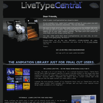 The fundamentals of livetype.
