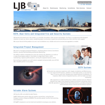 Ljbsecurity.co.uk thumbnail