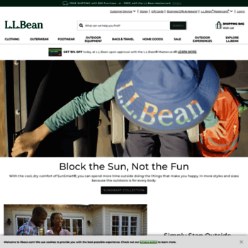 4182dac69596 llbean.com at WI. L.L.Bean - The Outside Is Inside Everything We Make