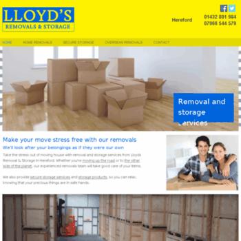 Lloydsremovalshereford.co.uk thumbnail