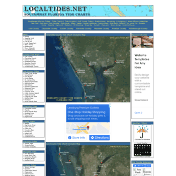 Localtides At Wi Southwest Florida Tides Local Tide Charts