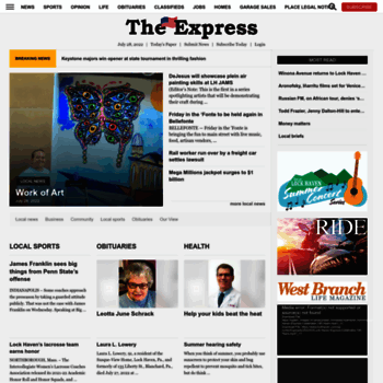 Lockhaven Com At Wi News Sports Jobs The Express This is our latest, most optimized. lockhaven com at wi news sports jobs