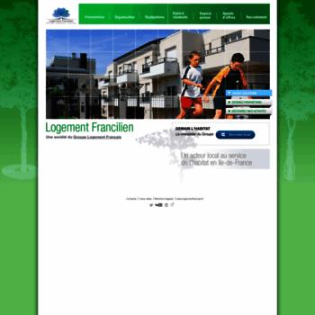 Logement-francilien.fr thumbnail