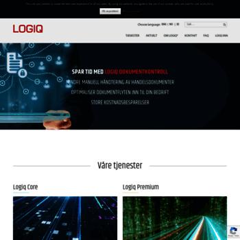 Logiq.no thumbnail