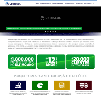 Logiscal.com.br thumbnail