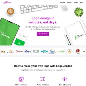 Logogarden.com thumbnail