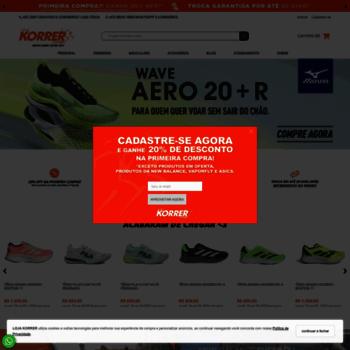 Lojakorrer.com.br thumbnail