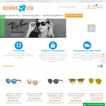 f5cd246e7 lojaoculosecia.com.br at WI. Óculos e Cia - Óculos de sol, óculos de ...
