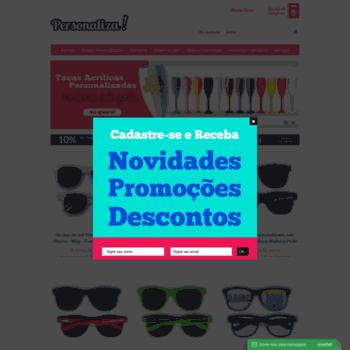 Lojapersonaliza.com.br thumbnail