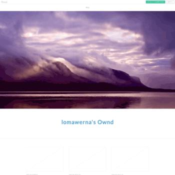 Веб сайт lomawerna.amebaownd.com