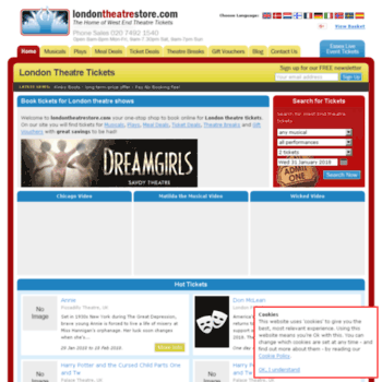 Londontheatrestore.com thumbnail