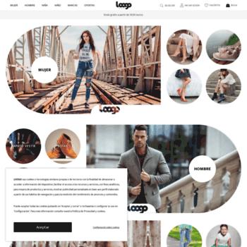 25543ea2 loogo de WI zapatos es Tienda online Loogo es at rpTrZ